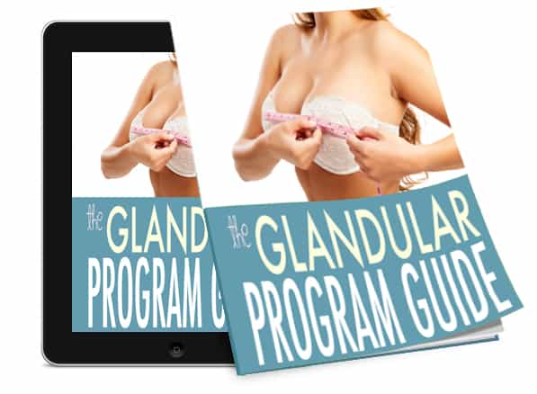 glandular breast enlargement