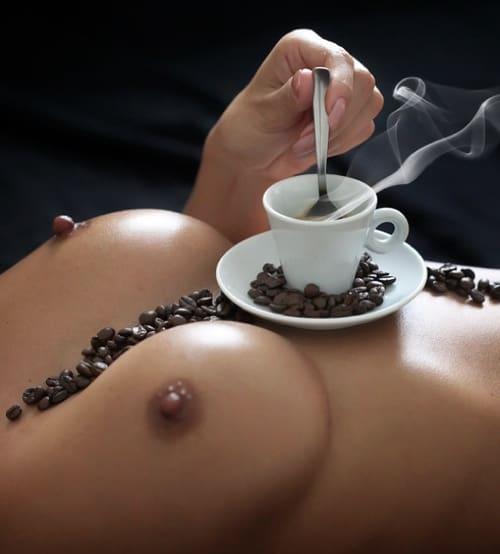 coffee effect on boobs