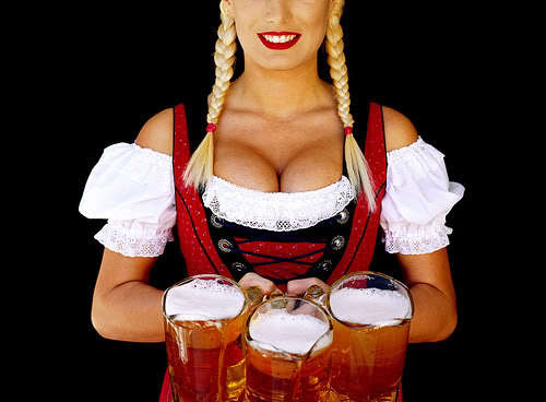 can beer make your breasts bigger?