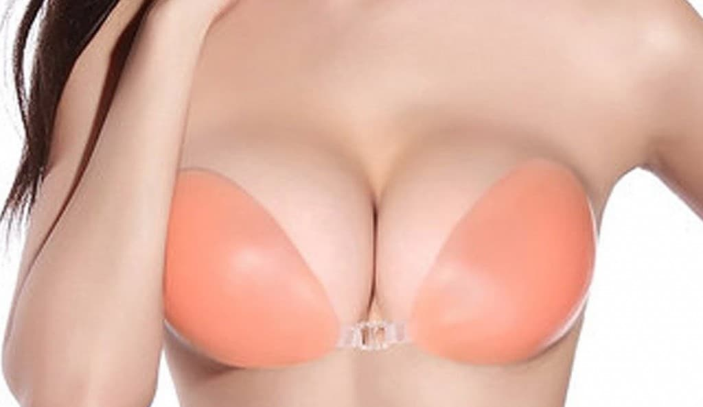 silicone push up bra